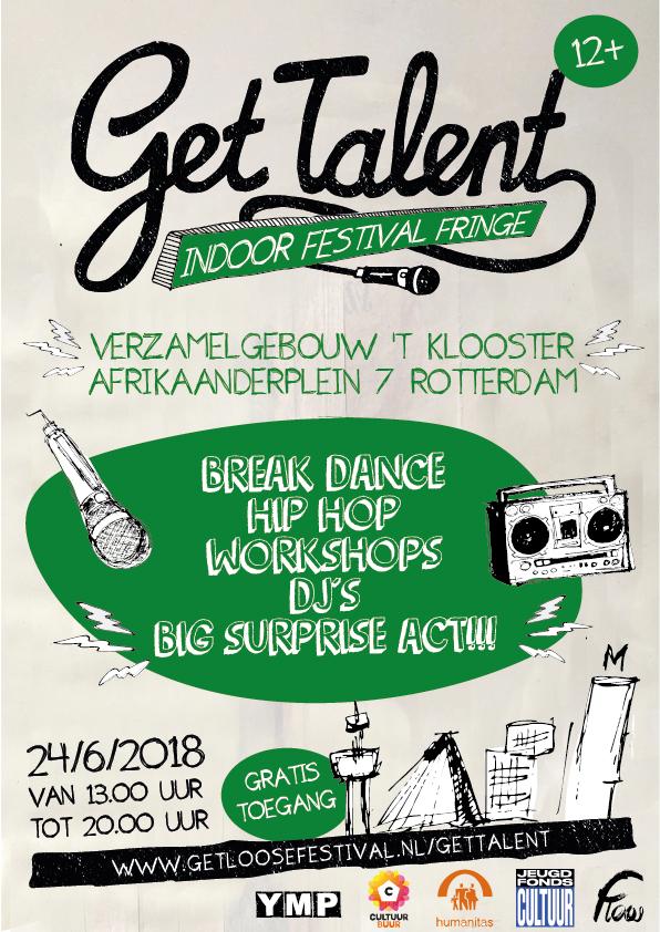 Get Talent geeft talenten uit de Afrikaanderwijk een podium