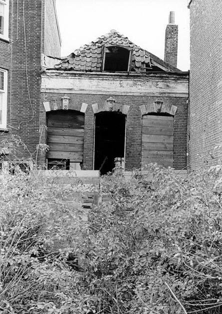 Het huis van Spokie in de jaren zeventig