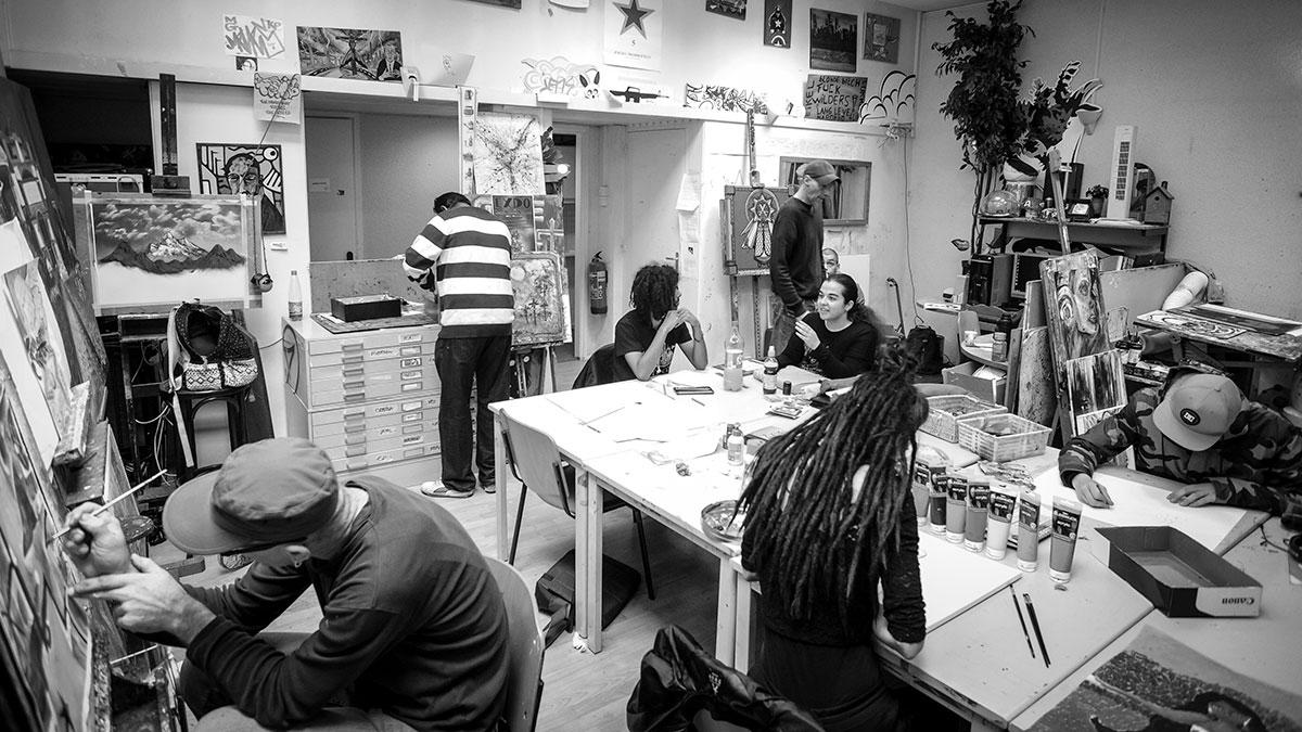 'Vluchthaven'/kunstatelier met sluiten bedreigd
