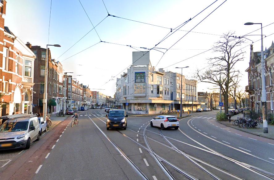 Waar komt die rare Y-splitsing vandaan bij de Bergweg-Benthuizerstraat?